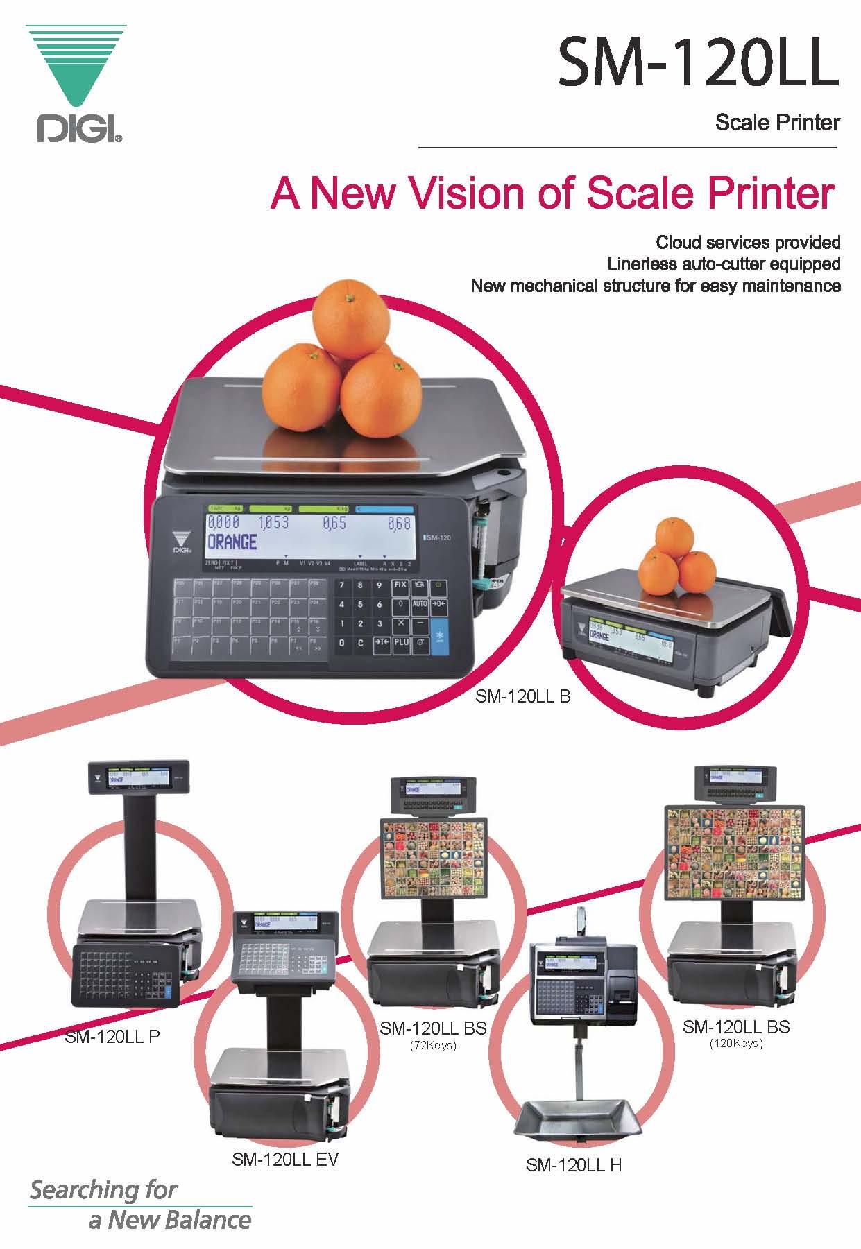 DIGI SM-120 Series Printer