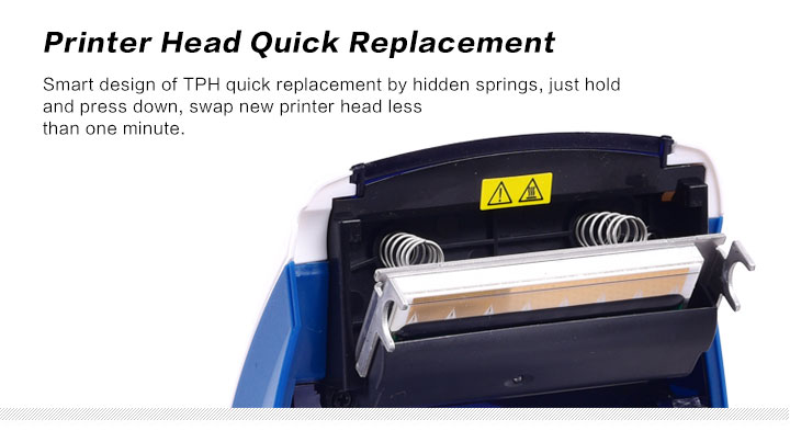Printer Head Quick Replacement