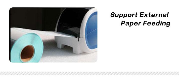 Support External Paper Feeding