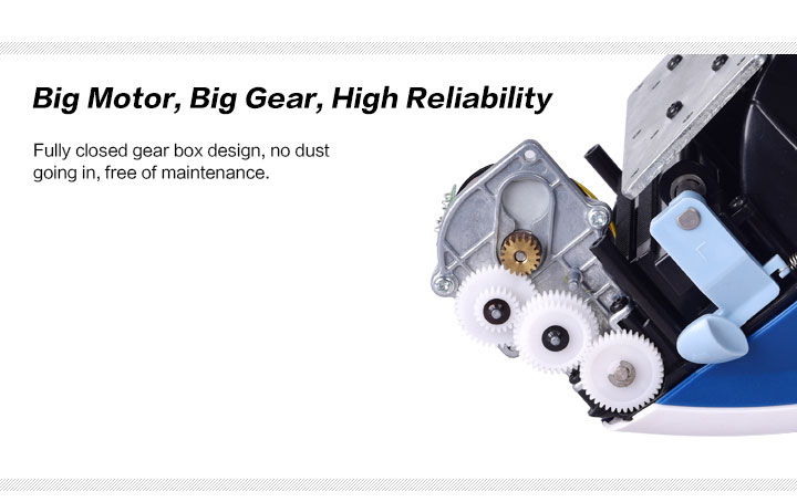 Big Motor, Big Gear, High Reliability
