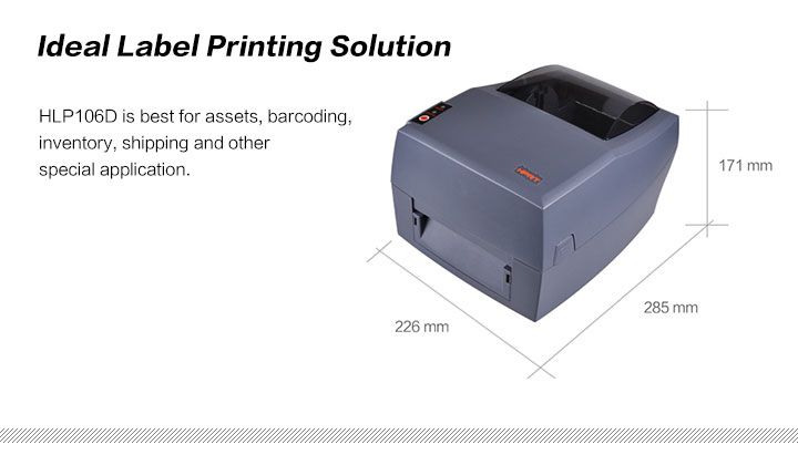 HLP106D Label Printer Features