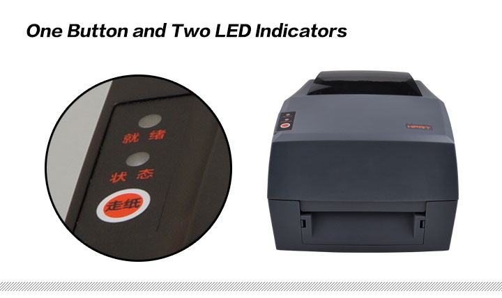 One Button and Two Led Indicators
