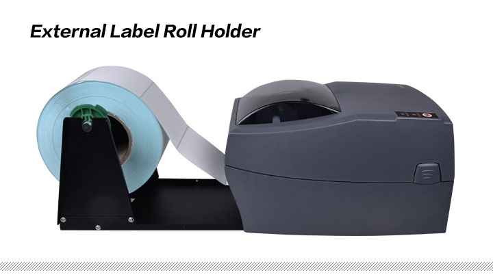 External Label Roll Holder