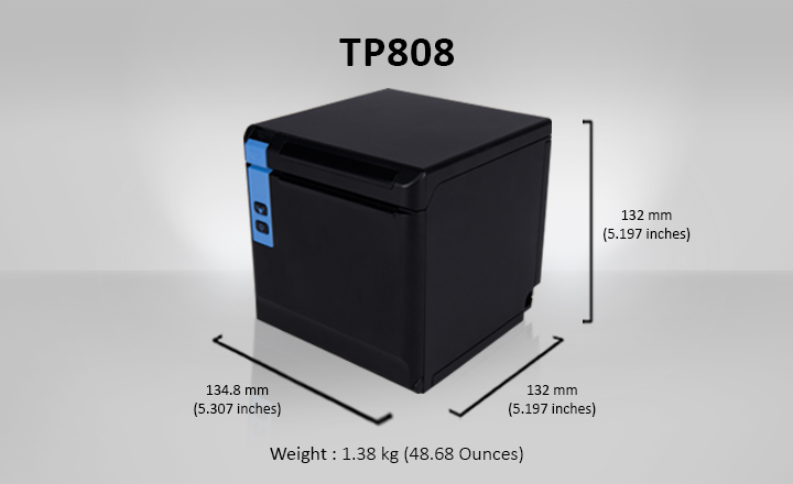 TP808 Printer Specifications